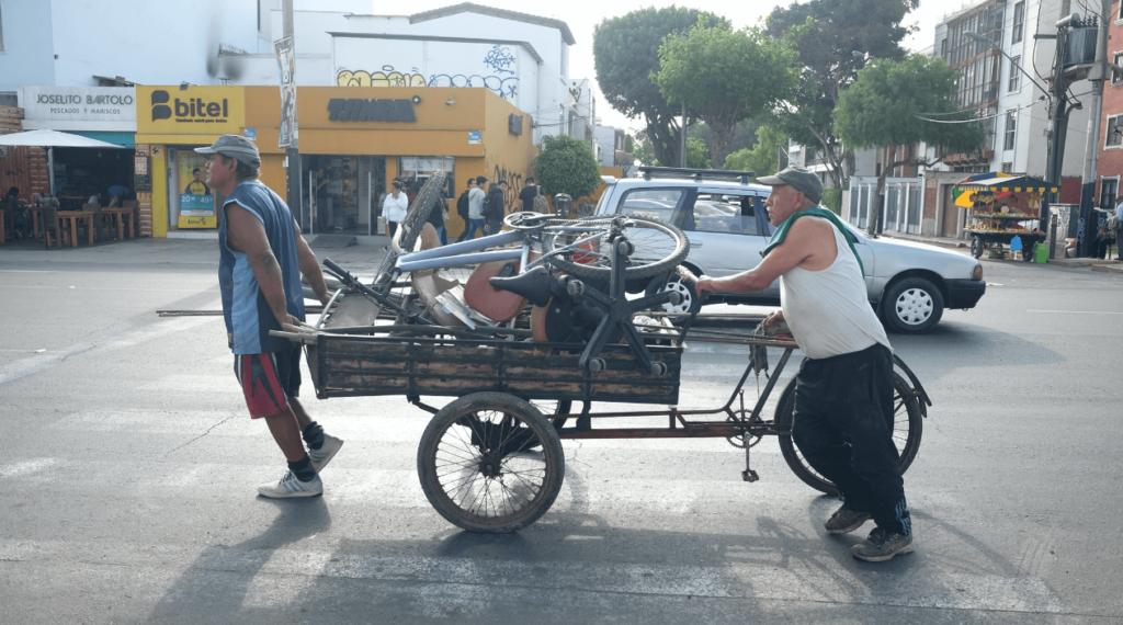Strasse Lima