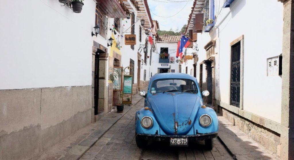 Gasse in Cusco